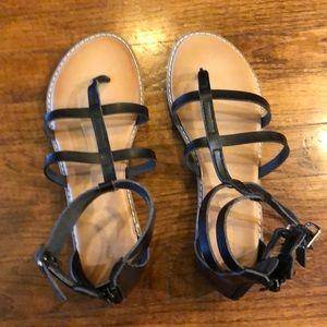 Old Navy black sandals